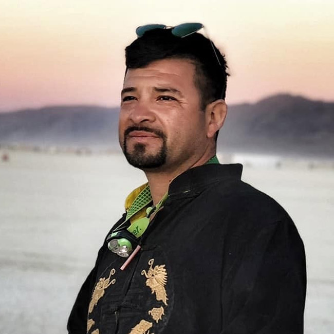 Victor Segura - Dirty Beetles, Burning Man Artist