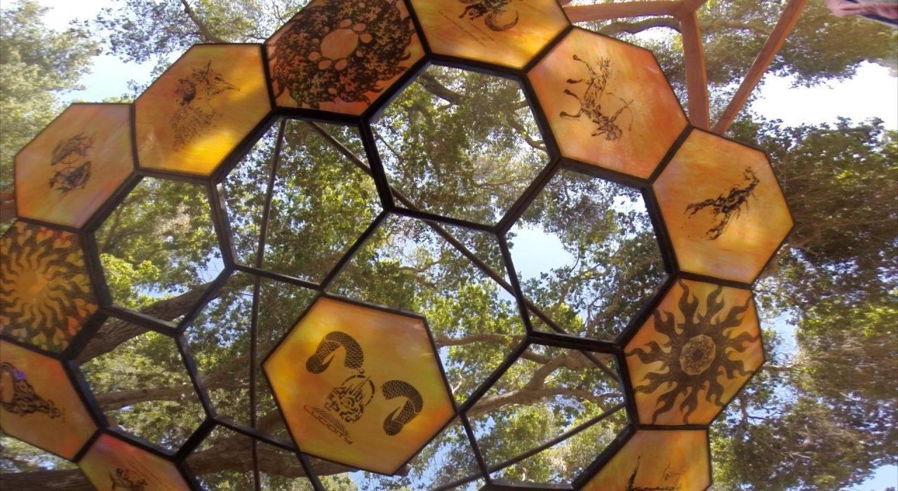 Transporter Burning Man Art Installation at Lucidity