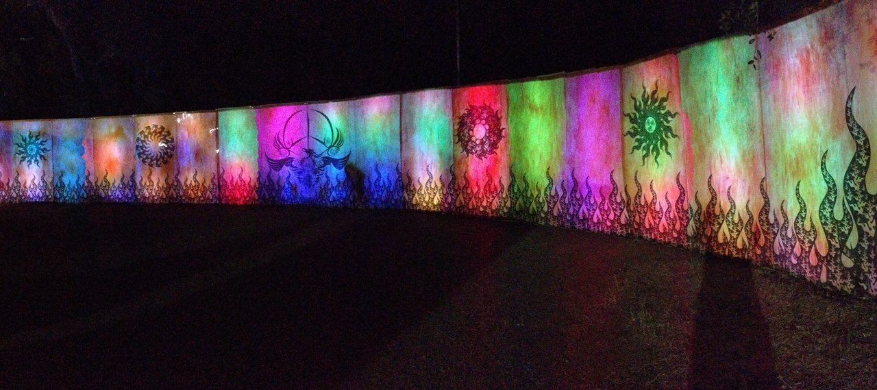 Burning Man Art in LA, California