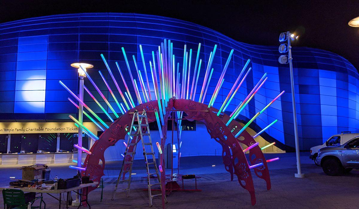 Sea Urchin - Burning Man Art Project
