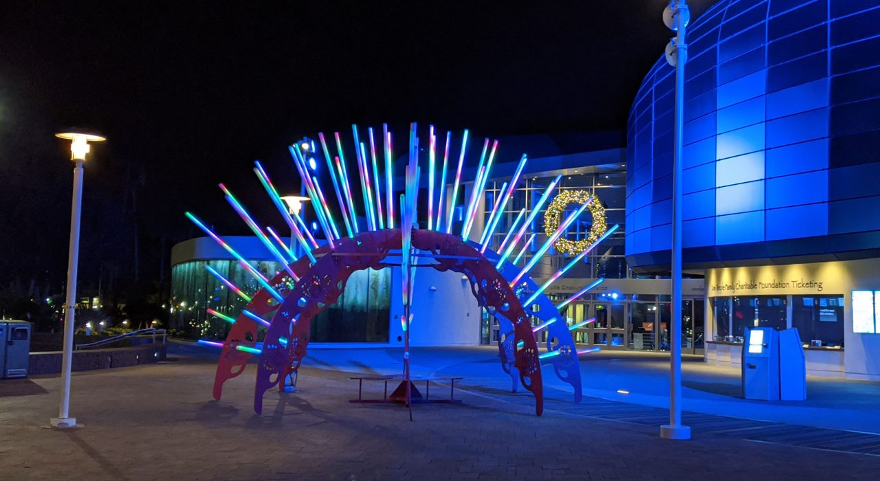 Sea Urchin - A 2016 Burning Man Global Arts Grant Honaria