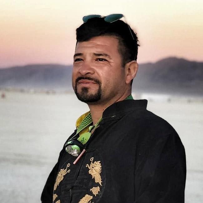 Victor Segura - Dirty Beetles, Burning Man Artist